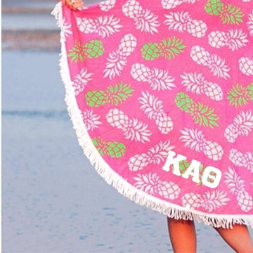 Kappa Alpha Theta Beach Towel
