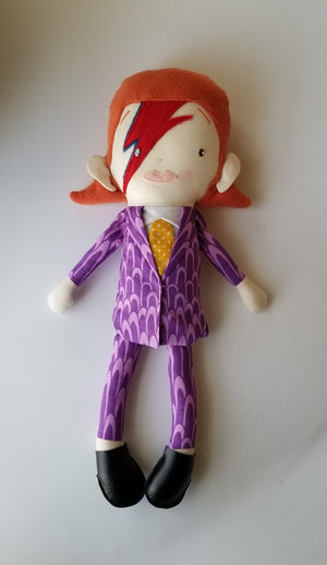 May*Lo Ziggy Stardust Inspired Doll