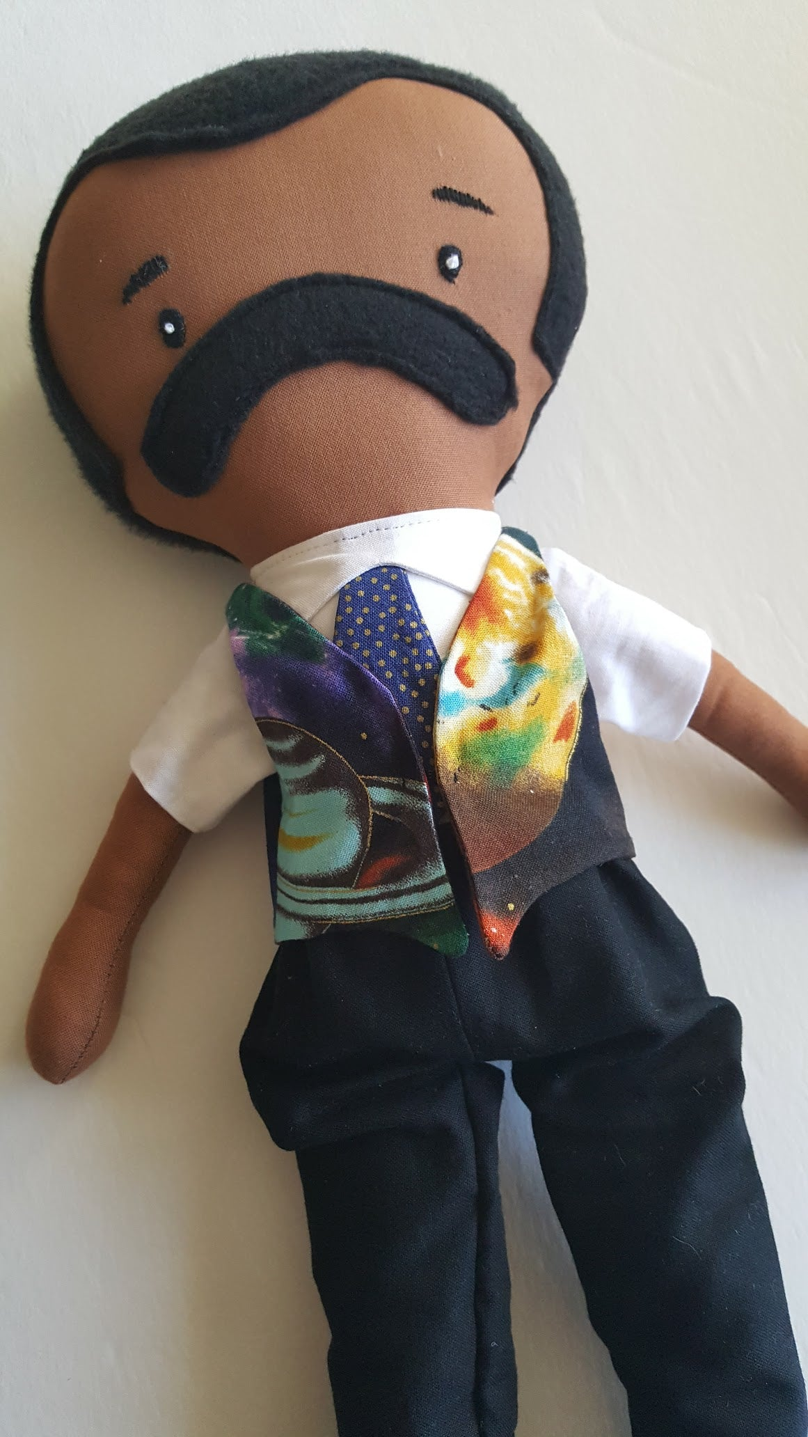 May*Lo Neil DeGrasse Tyson Inspired Doll