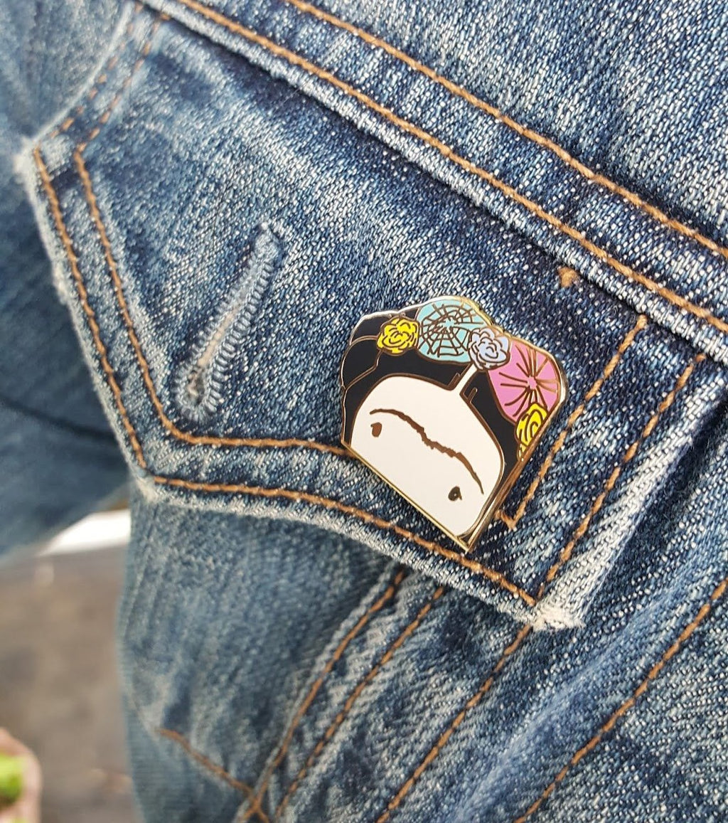 May*Lo Enamel Frida Pin