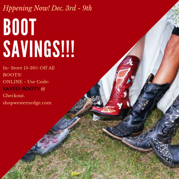 BOOT SaViNgS ~ Happening NOW!!
