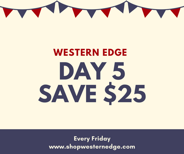 Day 5 Save $25