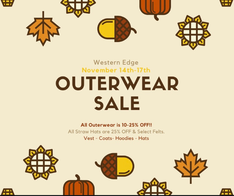 Outerwear Sale - Happening NOW