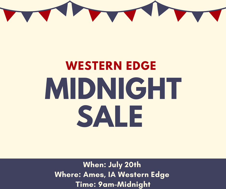 Ames Midnight Sale