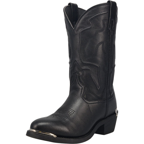 Men's Black Atlas Round Toe Boot