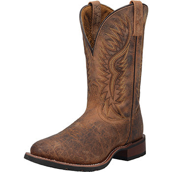 Laredo Distressed Brown Roper