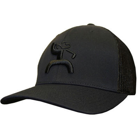 "Hooey ""Iron""Roughy Black Cap"