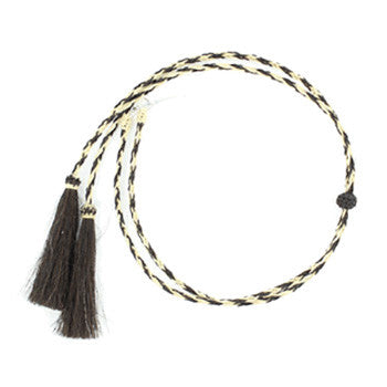 Horse Hair Natural and Tan Stampede String