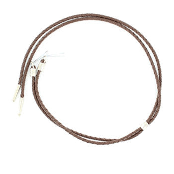 Brown Leather Stampede String