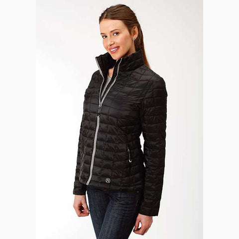 Roper Women's Black Poly Parachute Jacket