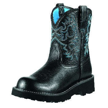 Ariat Black Round Toe Fatbaby