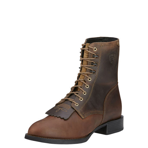 Ariat Men's Distressed Brown Heritage Lacer