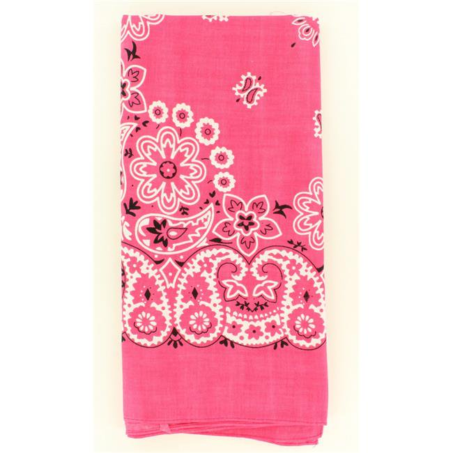 Pink Traditional Bandanna