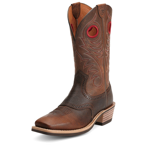 Ariat Brown Heritage Roughstock Boot