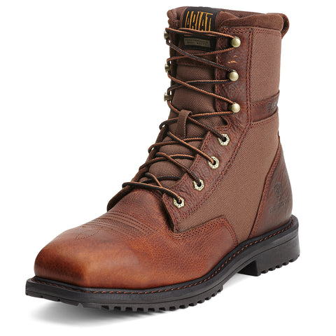 Ariat Men's Brown Rigtek Composite Square Toe Lace Up Boot