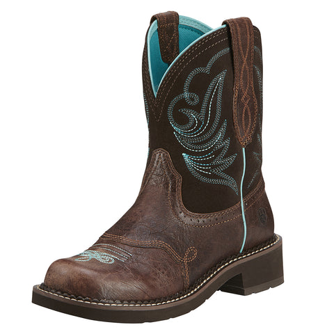 Ariat Women's Fatbaby Brown Boots