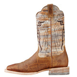 Ariat Men's Dust Devil Tan Mesteno Square Toe Boot