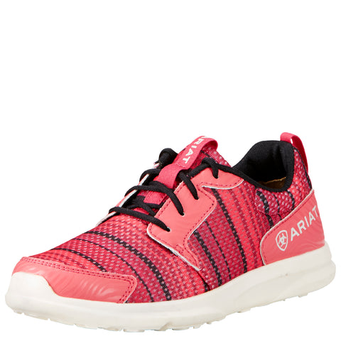 Ariat Youth Pink Serape Fuse Tennis Shoe