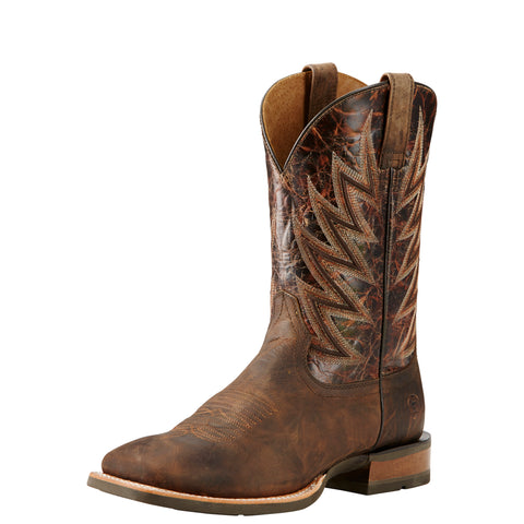 Ariat Challenger Men's Brown and Brindle Square Toe Boot