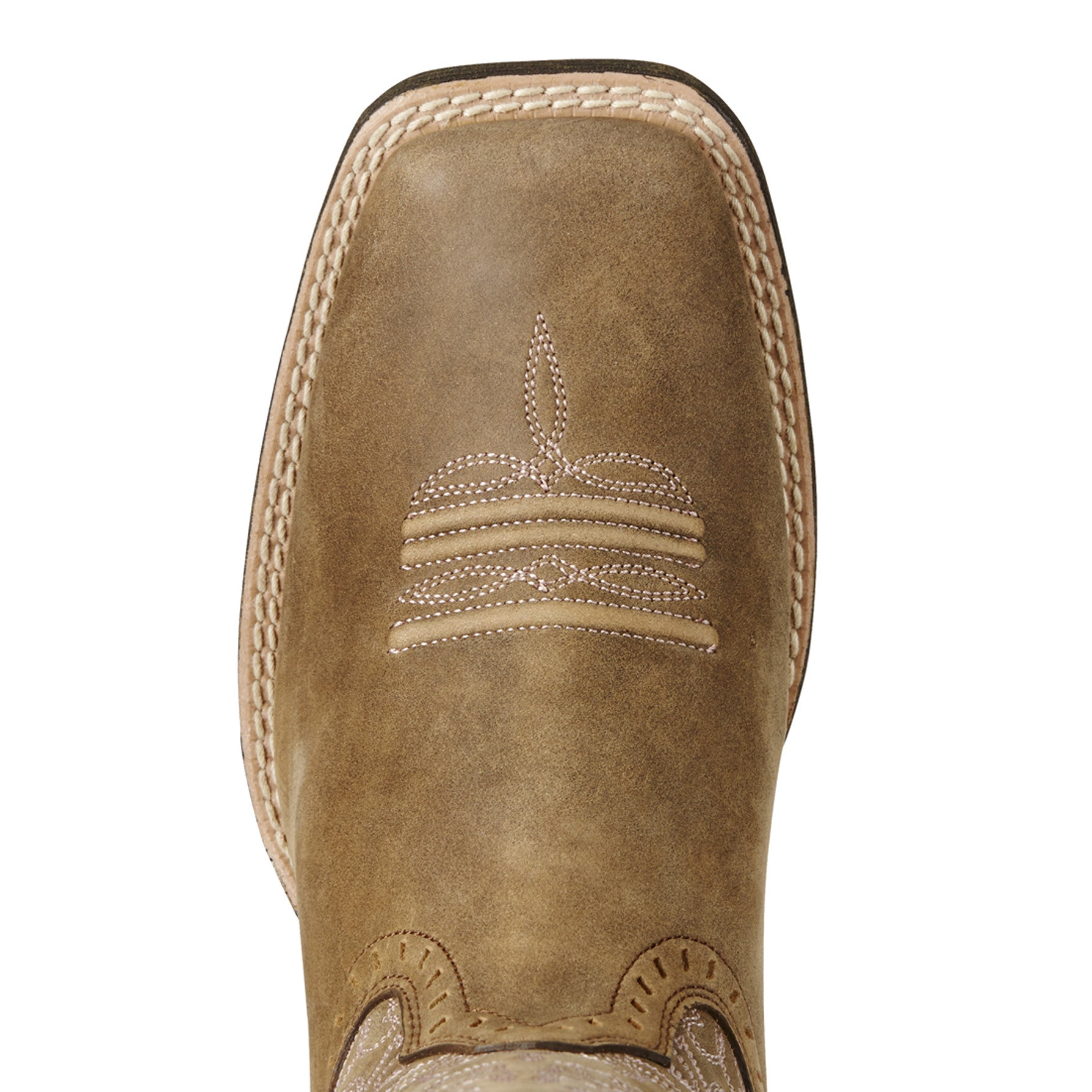 5f9a4f0d7d2 Ariat Brown Round Up Remuda Square Toe Boots – Western Edge, Ltd.