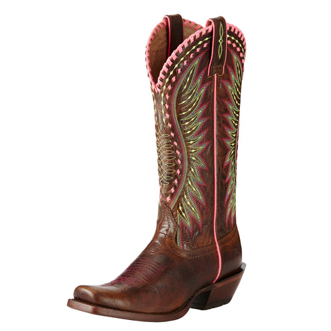 Ariat Brown Derby Square Toe Boots