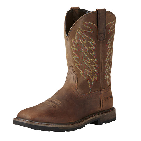Ariat Groundbreaker Square Toe Workboot