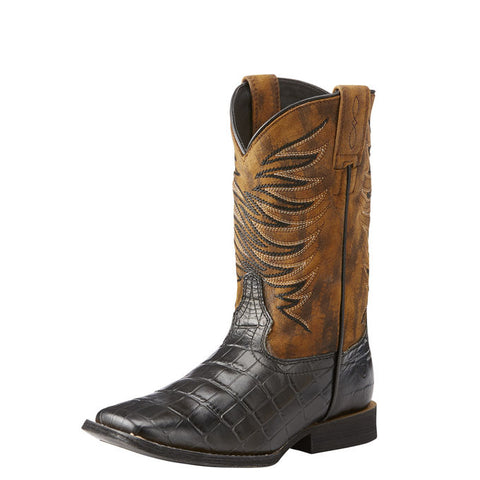 Ariat Kid's Firecatcher Western Square Toe Boot