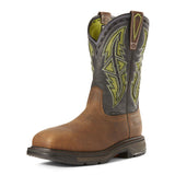 Ariat Men's Brown Work Hog XT VentTEK Spear Square Carbon Toe Work Boot