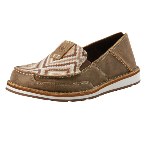 Ariat Brown Aztec Cruiser