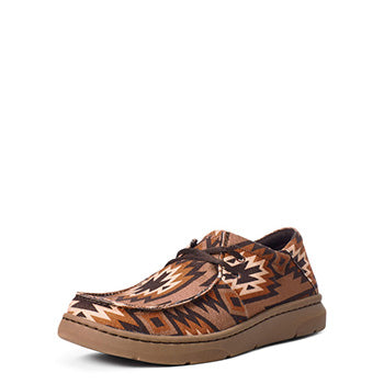 Ariat  Mens Tan Aztec Hilo