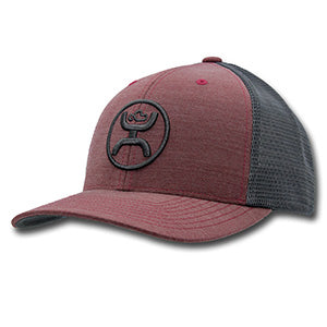 Hooey Youth Maroon and Grey O Classic Cody Ohl Cap