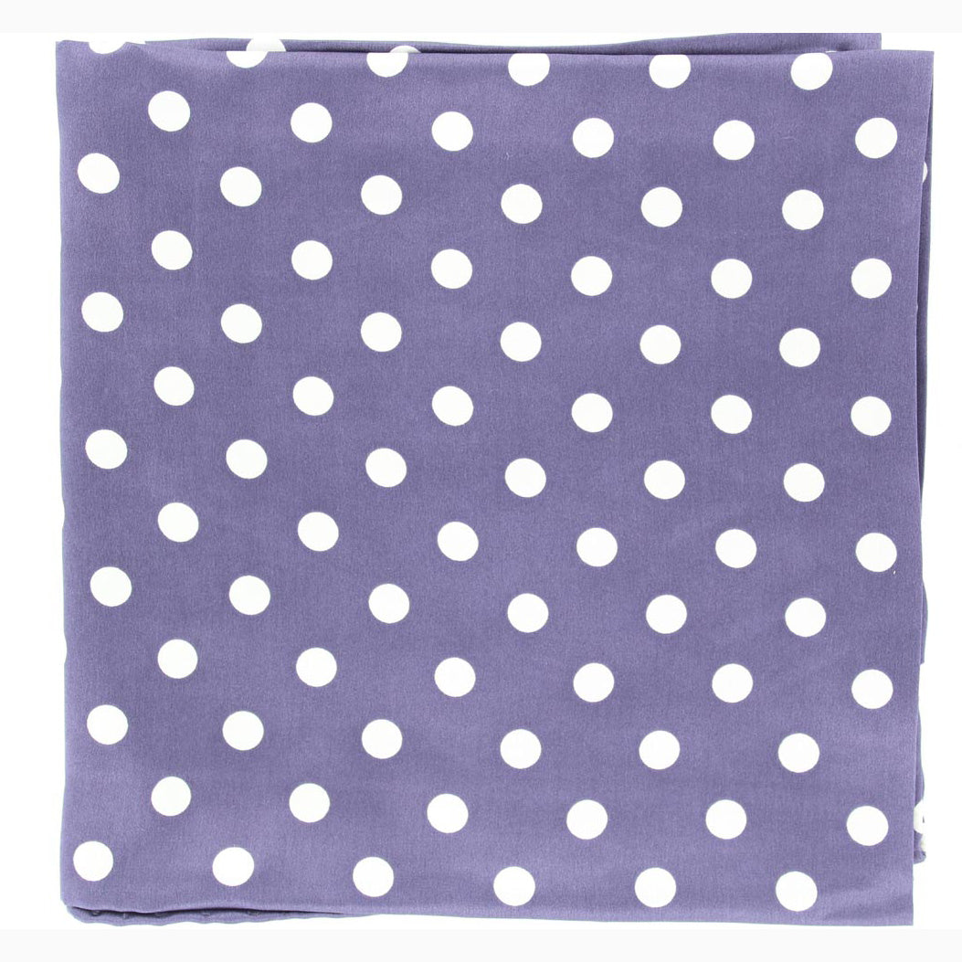 869979291f9564 White and Blue Polka Dot Silk Wild Rag – Western Edge, Ltd.