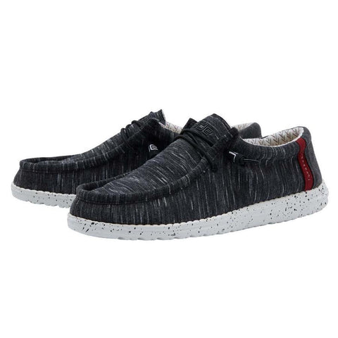 Men's Heather Black Hey Dude Shoe