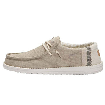 Heydude Wally Linen Natural Khaki