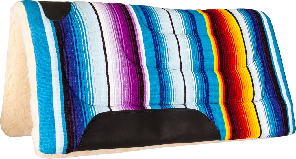 Serape Navajo Pad with Fleece Bottom