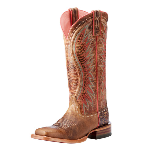 Ariat Women's Dusted Wheat Vaquera Square Toe Boot