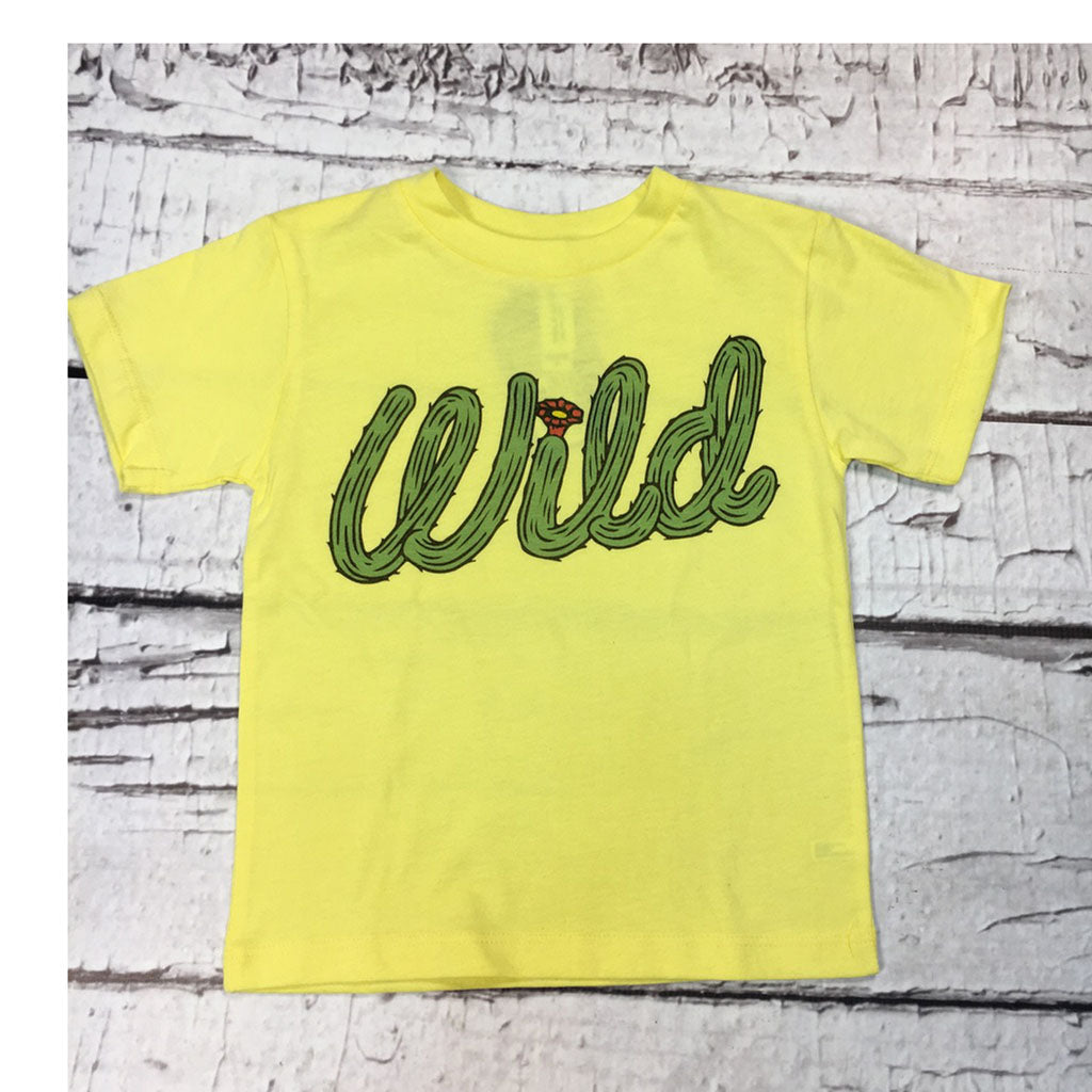 J.Forks Designs Yellow Wild Tee