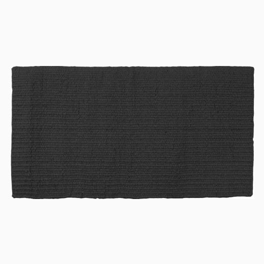 Mustang Black New Zealand Wool Show Blanket