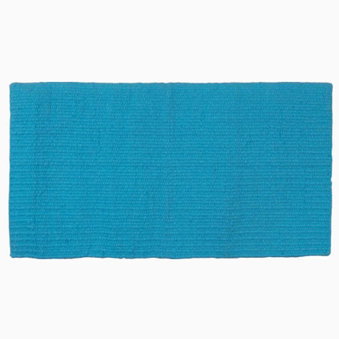 Mustang Turquoise New Zealand Wool Show Blanket