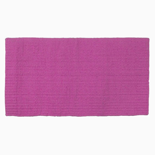 Mustang Hot Pink New Zealand Wool Show Blanket