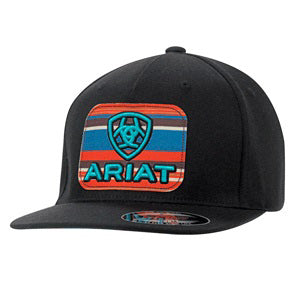 Ariat Black Serape Patch Cap