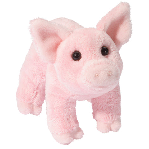 """Buttons"" Plush Pink Pig"