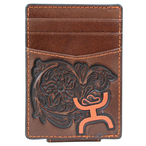 Hooey Orange Signature Money Clip