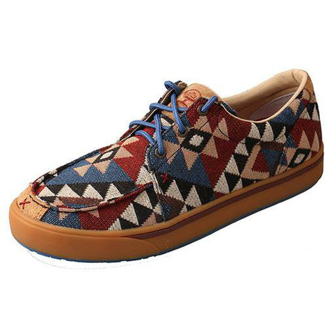 Hooey by Twisted X Aztec Canvas Shoes