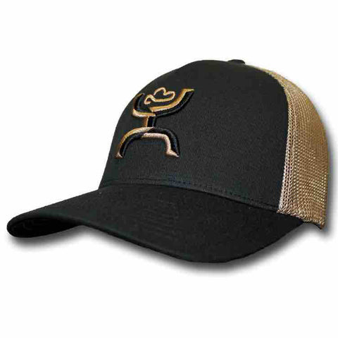 Black and Khaki Coach Hooey Cap