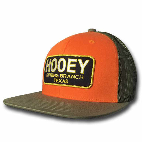 "Orange and Green ""Hometown"" Hooey Cap"
