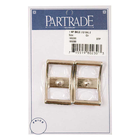 Partrade 1 Inch Nickle Plated Buckle