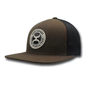 Hooey Guadalupe Brown and Black Mesh Truckers Cap
