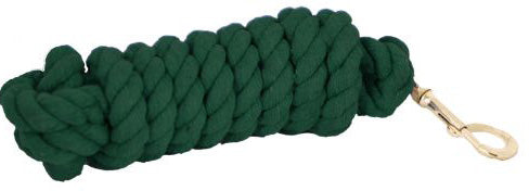 Cotton Lead/Bolt Snap - Green