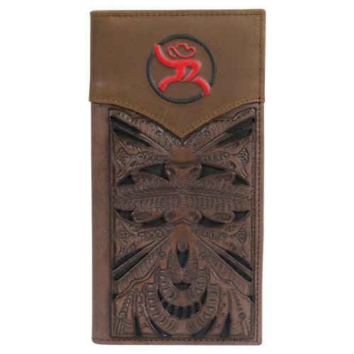 Hooey Chocolate and Red Roughy Rodeo Wallet